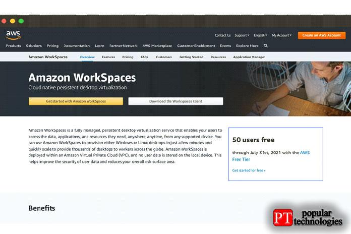 Amazon AWS Workspaces