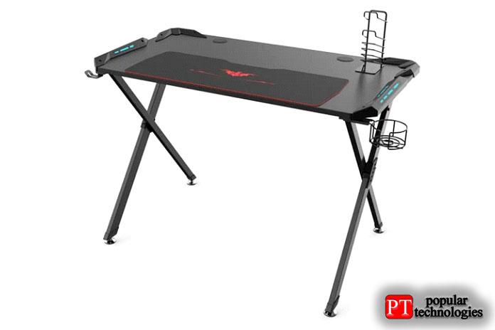 Eureka Ergonomic X1-S Gaming Computer Desk