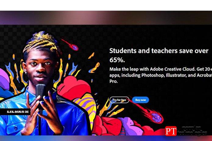 Хотя Adobe непредлагает студентам скидку только наPhotoshop