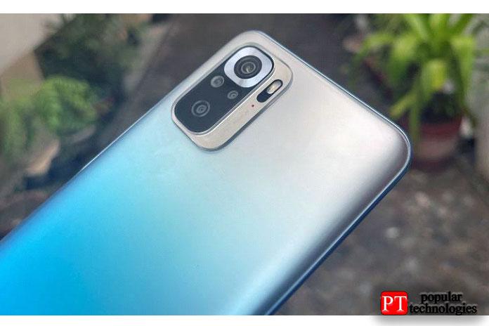 Интересно, что онлегче Redmi Note10 Pro— 178г