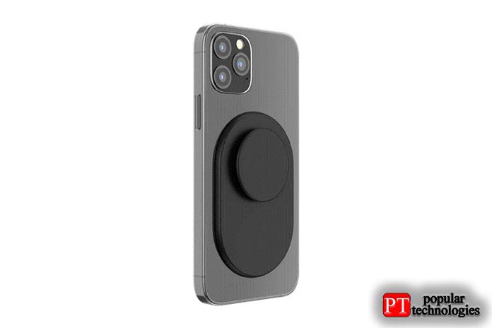 Кожаный кошелек Apple iPhone сMagSafe