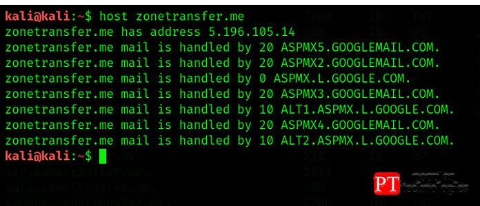 Напервом этапе откройте новый терминал вKali Linux