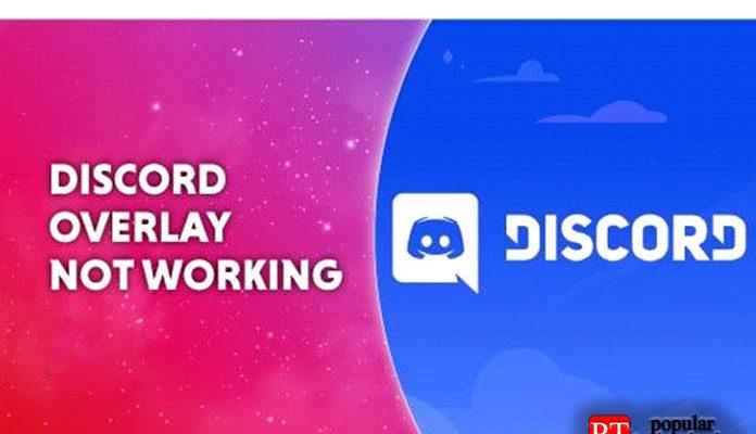 Не работает оверлей (Overlay) в Discord