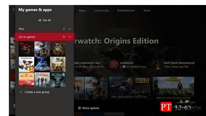 Перейдите вМои игры иприложения вменю Xbox One