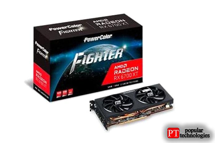 PowerColor Fighter Radeon RX 6700 XT