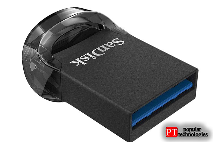 SanDisk Ultra Fit— Лучшее для путешествий