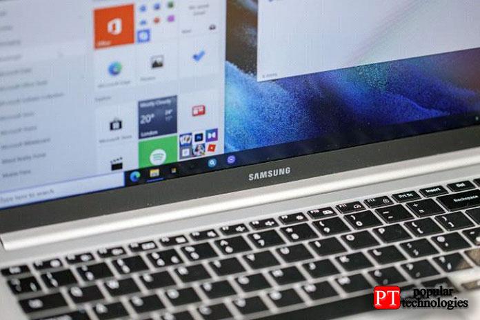 Вытакже получаете относительно базовое меню настроек Samsung
