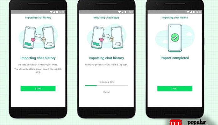 WhatsApp сообщает о передаче истории чата между iOS и Android