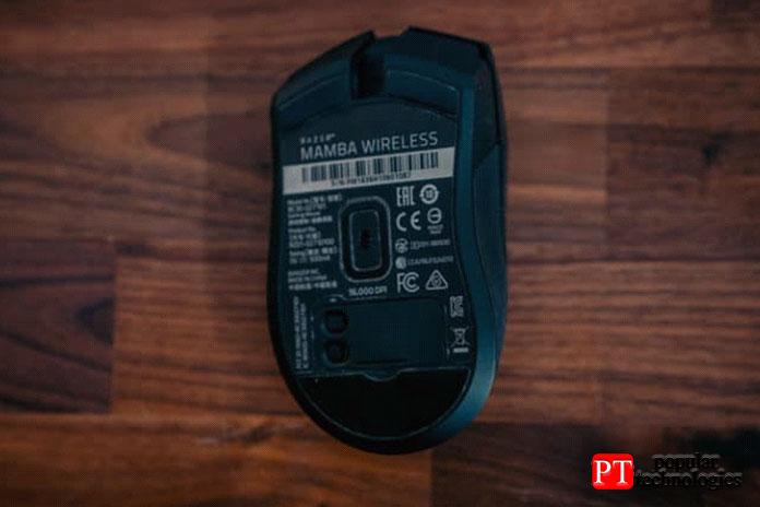 Wireless Mamba использует интуитивно понятное