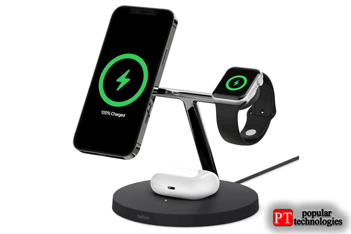 Зарядное устройство 3-в-1 Belkin Boost Charge Pro