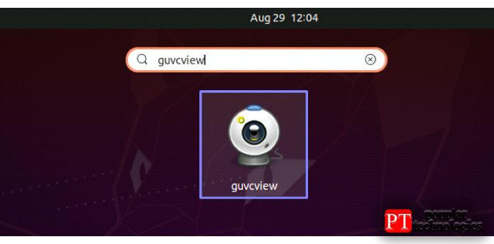 Безошибочный вывод указывает, что теперь Guvcview существует ввашей системе