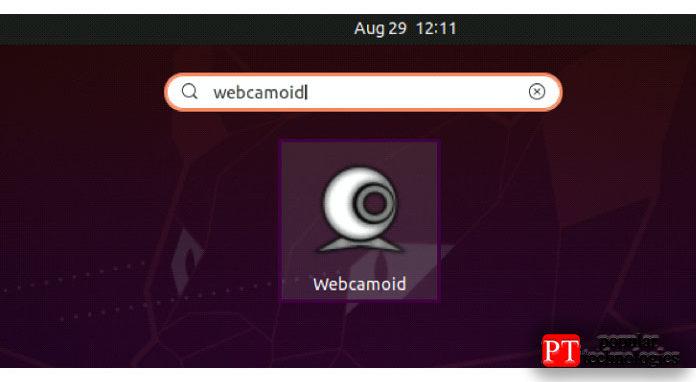Безошибочный вывод заявляет, что теперь ввашей системе установлено приложение Webcamoid