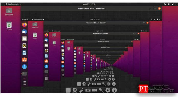 Безошибочный вывод заявляет, что теперь ввашей системе установлено приложение Webcamoid2