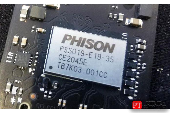 Если PS5019-E19T может поддерживать до2ТБ