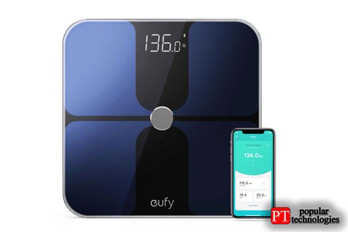 Eufy BodySense Smart Scale— Лучшая бюджетная покупка