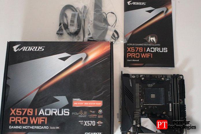 Gigabyte X570-IAORUS Pro Wi-Fi цена иналичие