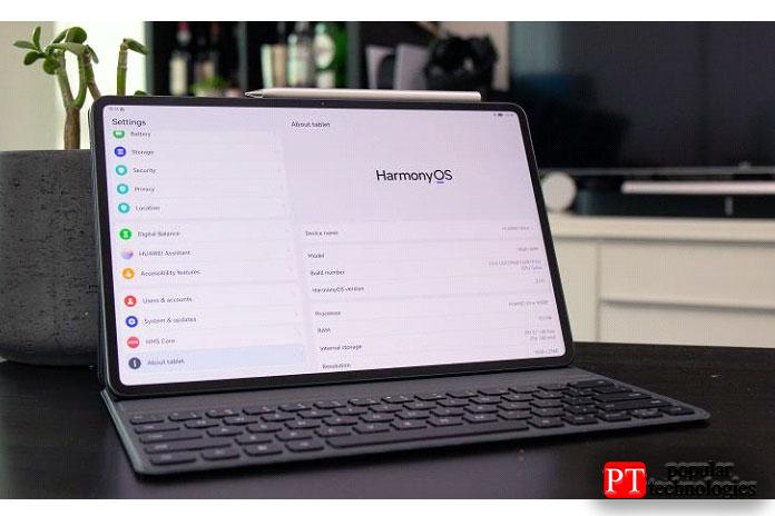 Huawei MatePad Pro работает под управлением HarmonyOS