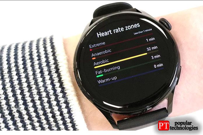 Huawei Watch 3 поставляется с приложениями для отслеживания фитнеса