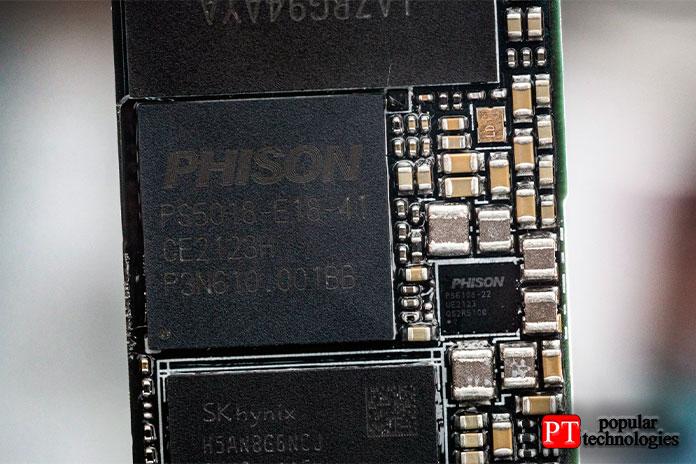 Как упоминалось ранее, Phison PS5018-E18