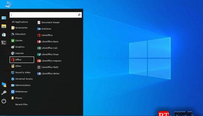 Linux похожим на Windows 10