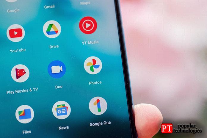 Нанекоторых устройствах— как Pixel Google 4от
