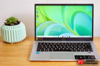 Обзор Acer Swift 1 (SF114-34)
