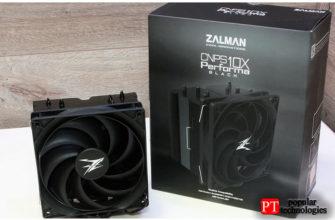 Обзор кулера для процессора Zalman CNPS10x Performa Black
