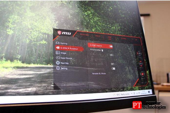 Панель MSI имеет два порта HDMI иодно соединение DisplayPort