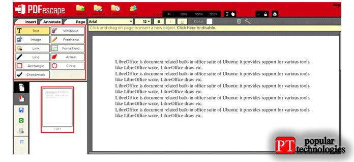 После того, как вызагрузили PDF-файл, который хотите отредактировать