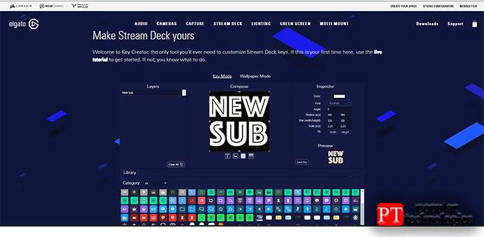 Программное обеспечение Elgato Stream Deck MK.2