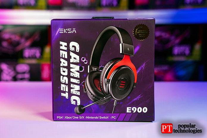 Проводная игровая гарнитура EKSA E900