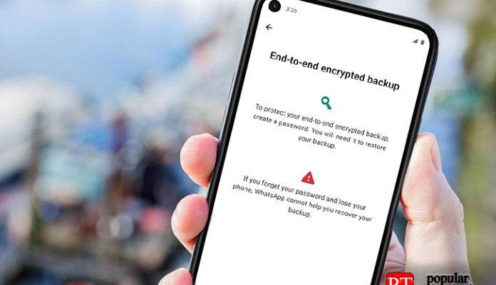 Резервные копии WhatsApp получают сквозное шифрование
