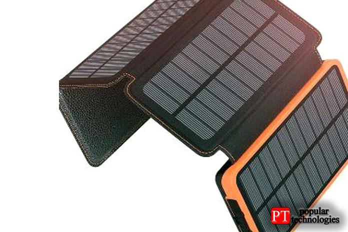 Солнечное зарядное устройство 25000 мАч отAddtop поставляется