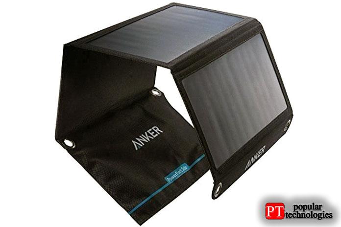 Солнечное зарядное устройство Addtop 25000 мАч