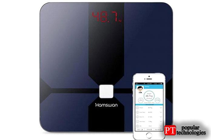 Умные весы Hamswan Bluetooth Smart Scale — недорогие
