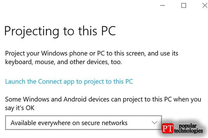 Выберите первое раскрывающееся меню вразделе «Некоторые устройства Windows иAndroid могут