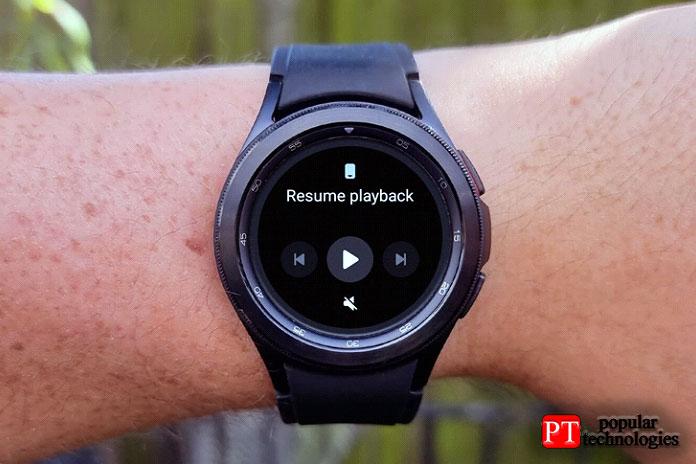 Watch4 Classic также поддерживает прямое сопряжение аудио