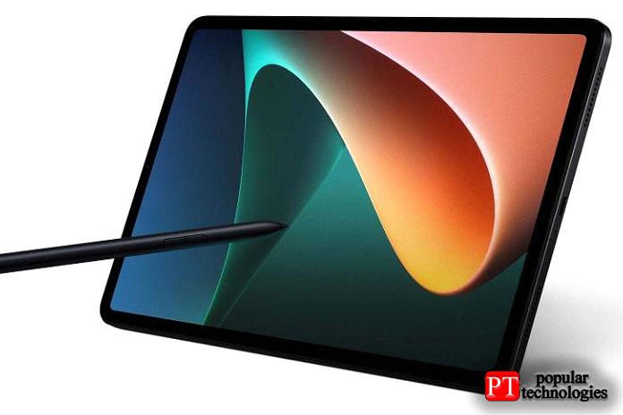 Xiaomi Pad 5поддерживает частоту обновления 120Гц