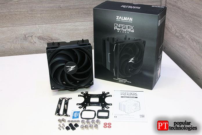 Zalman CNPS10x Performa Black поставляется смонтажным