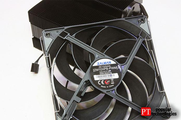 Zalman включает 135-миллиметровый PWM-вентилятор
