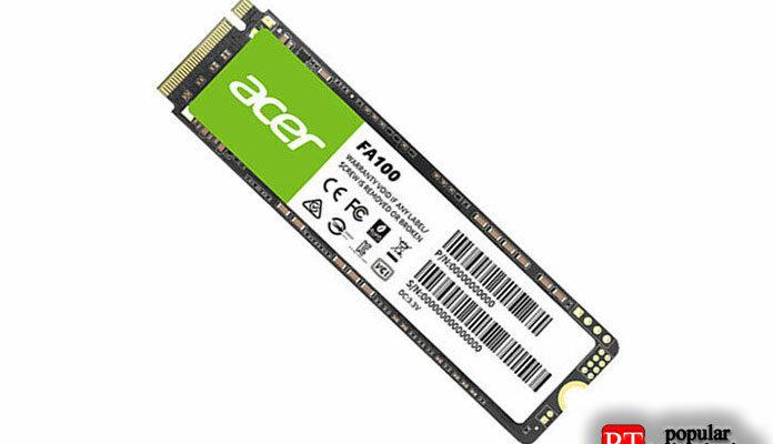 Acer FA100 NVMe