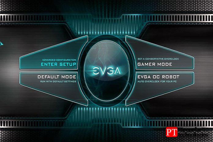 BIOS EVGA для X570 выглядит также, как ивверсиях плат Intel