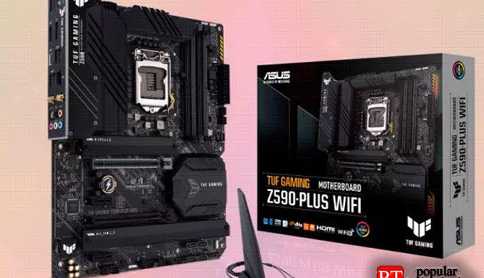Обзор Wi-Fi Asus TUF Gaming Z590-Plus