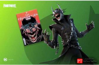 Скины Смеющегося Бэтмена из Fortnite