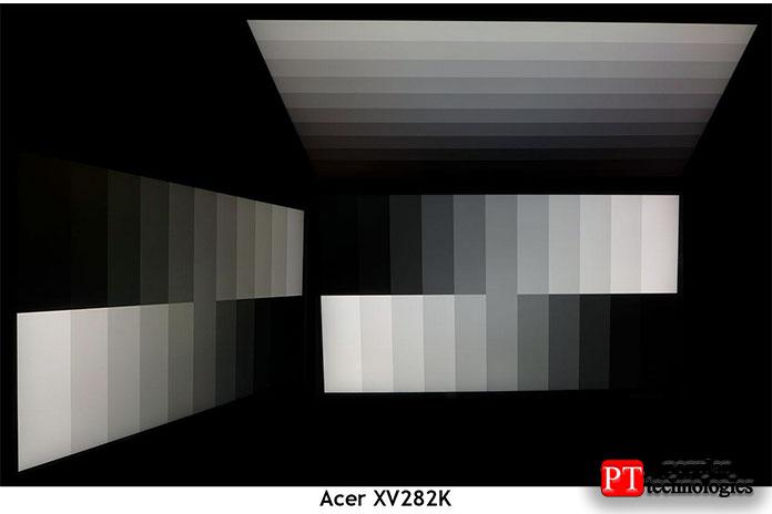 УXV282K неплохие углы обзора, типичные для последних IPS-экранов